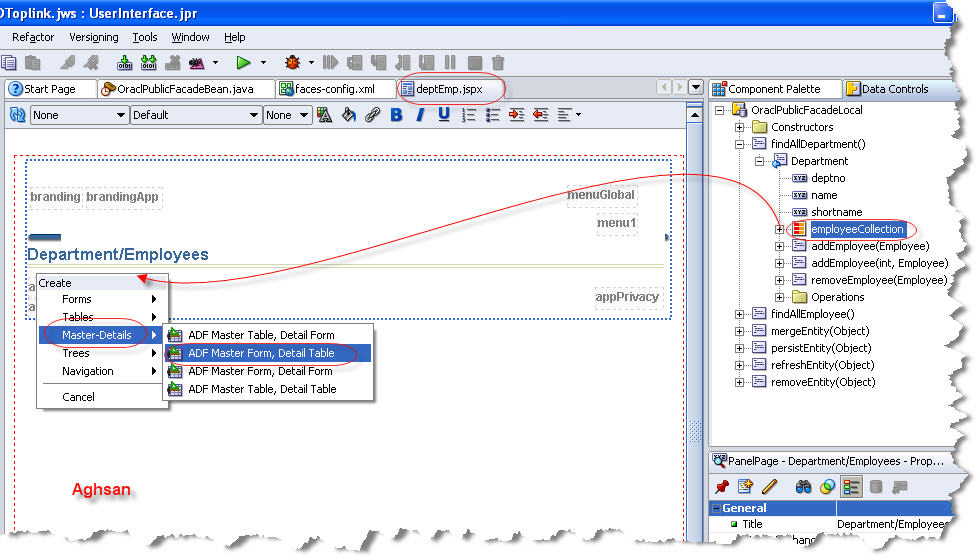 Build a Web Application with ADF Faces and Oracle TopLink